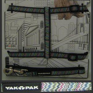 Yak Pak Dog Harness & Leash